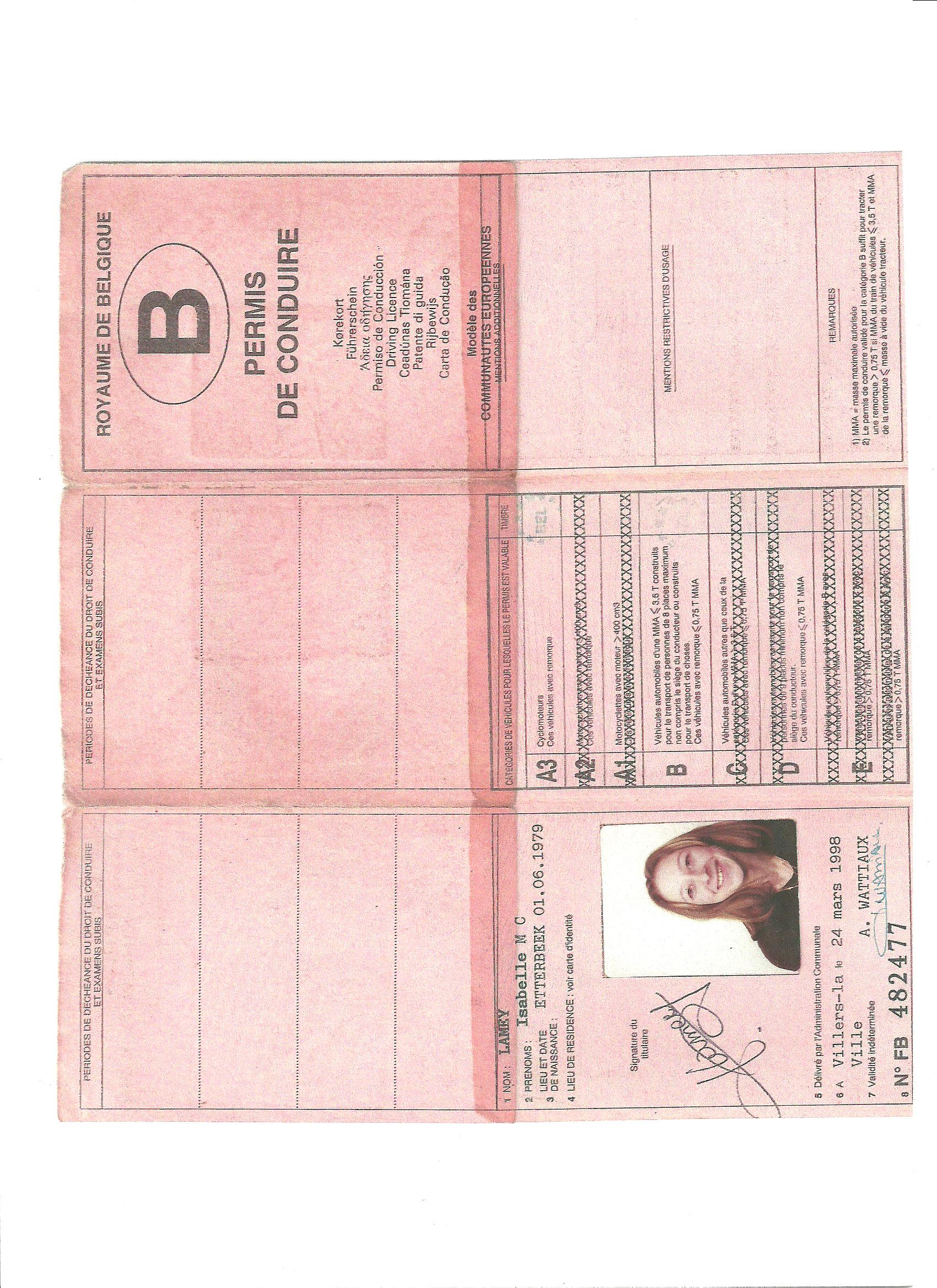 Permis de conduire infomotor - Grille d evaluation permis de conduire ...