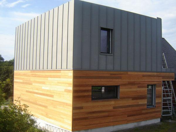 bardage zinc jb toiture. Black Bedroom Furniture Sets. Home Design Ideas
