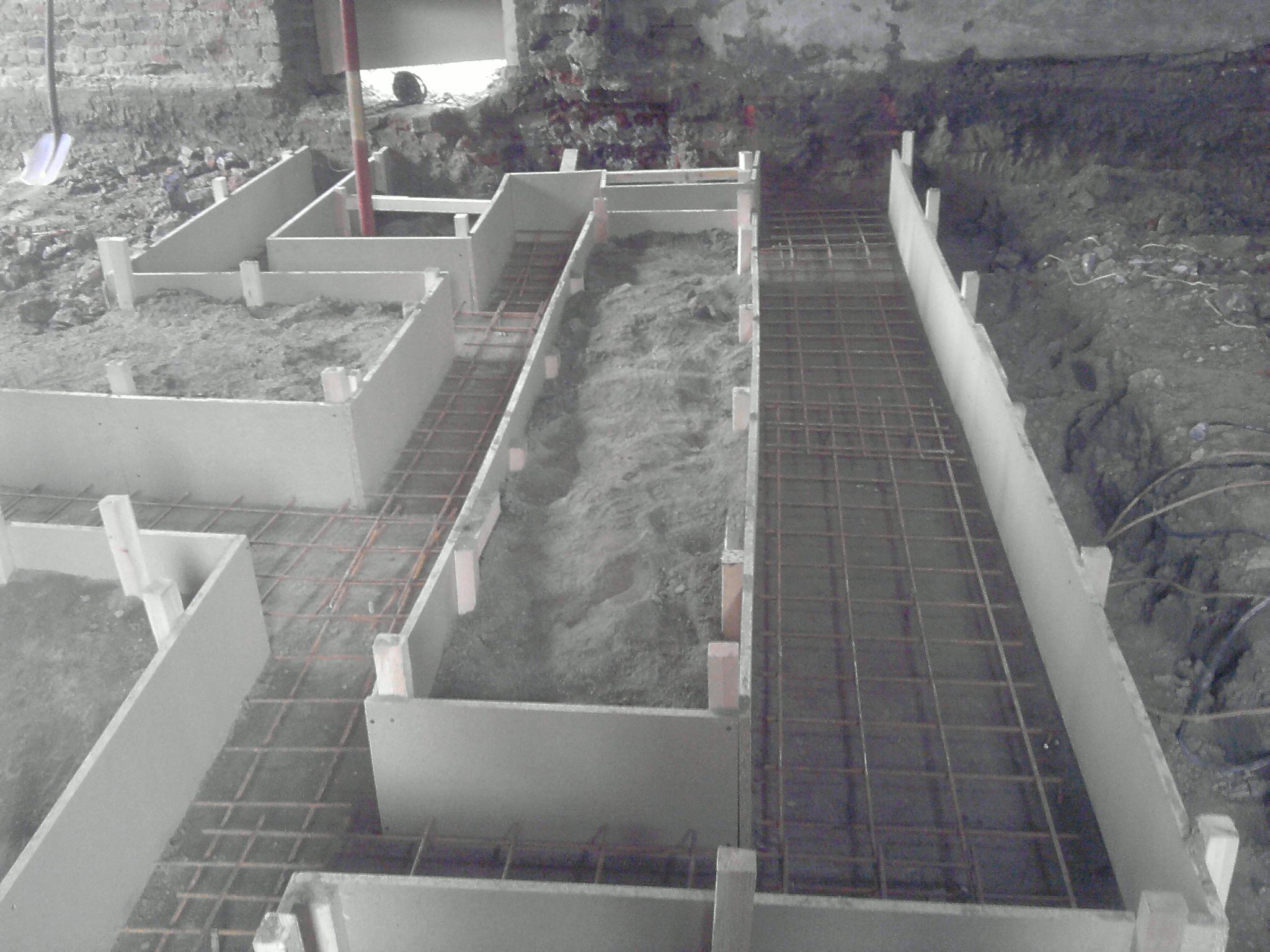 construction b ton coffrage pr paration dalle de sol entreprise de construction evlard. Black Bedroom Furniture Sets. Home Design Ideas