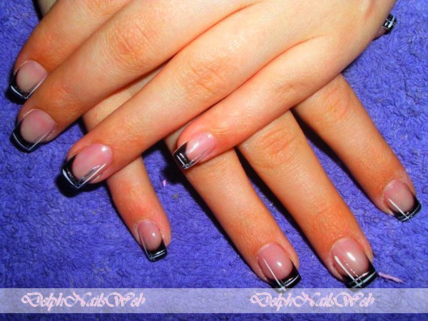 decoration ongle en gel On decoration ongle simple