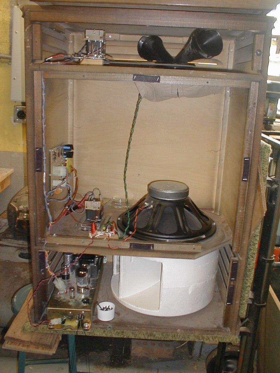 Hammond Organ Cabinet