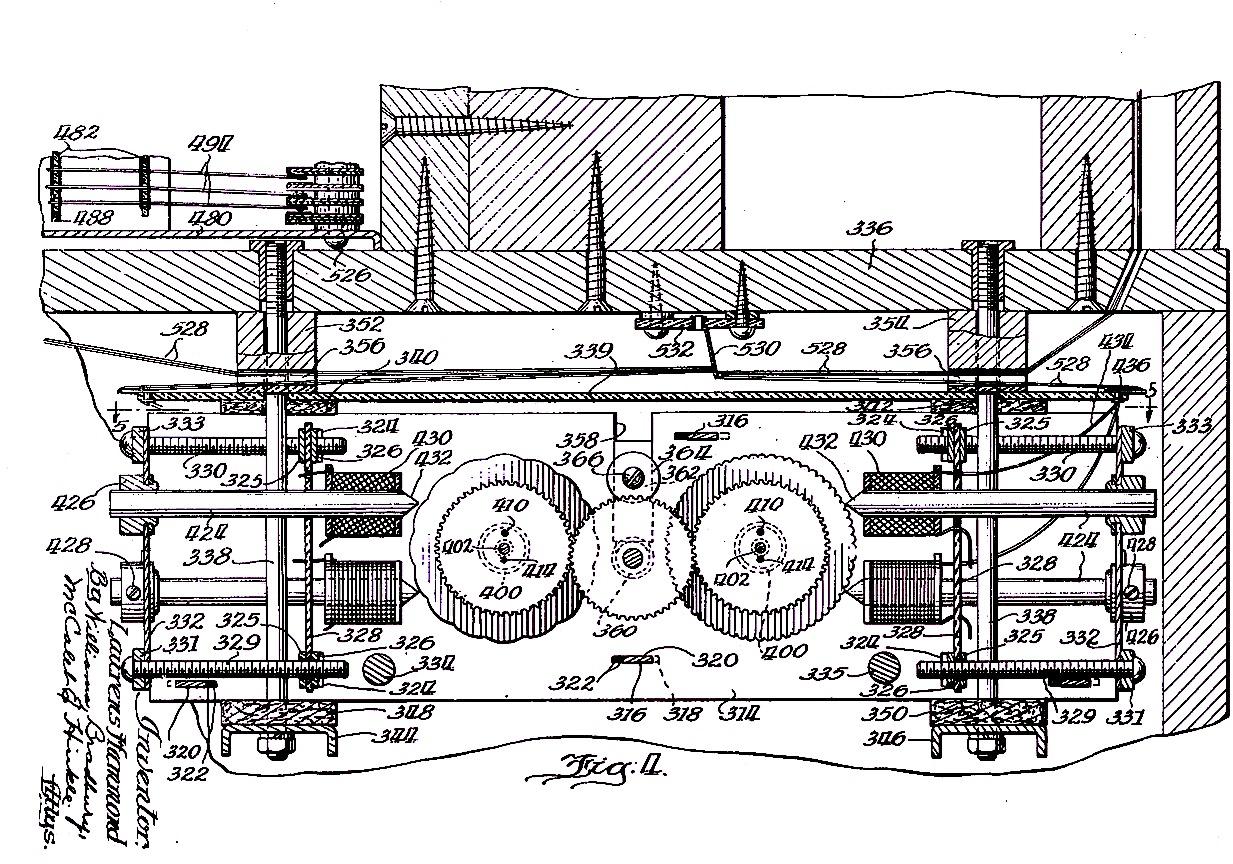 hammond patent 1934   l u0026 39 orgue hammond par c u00e9dric malvetti