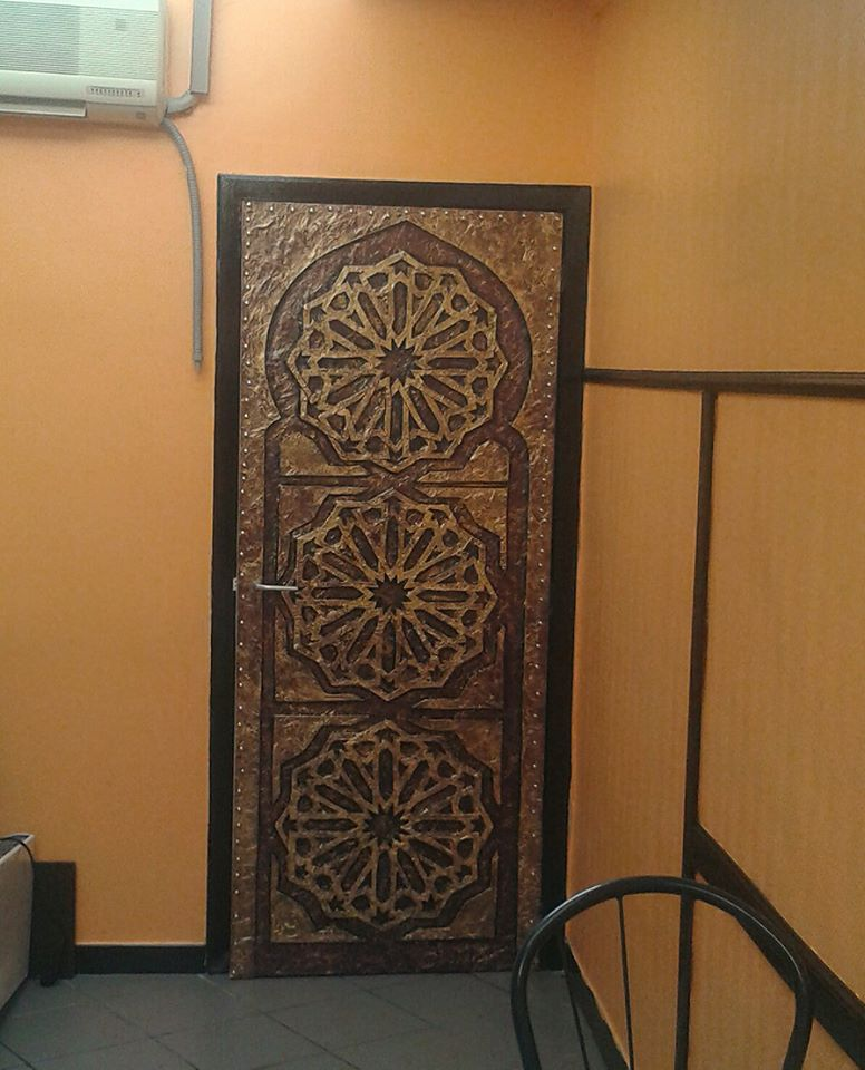 Portes d coration orientale for Decoration porte orientale