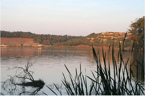 Lac de Reghaia au Maghreb